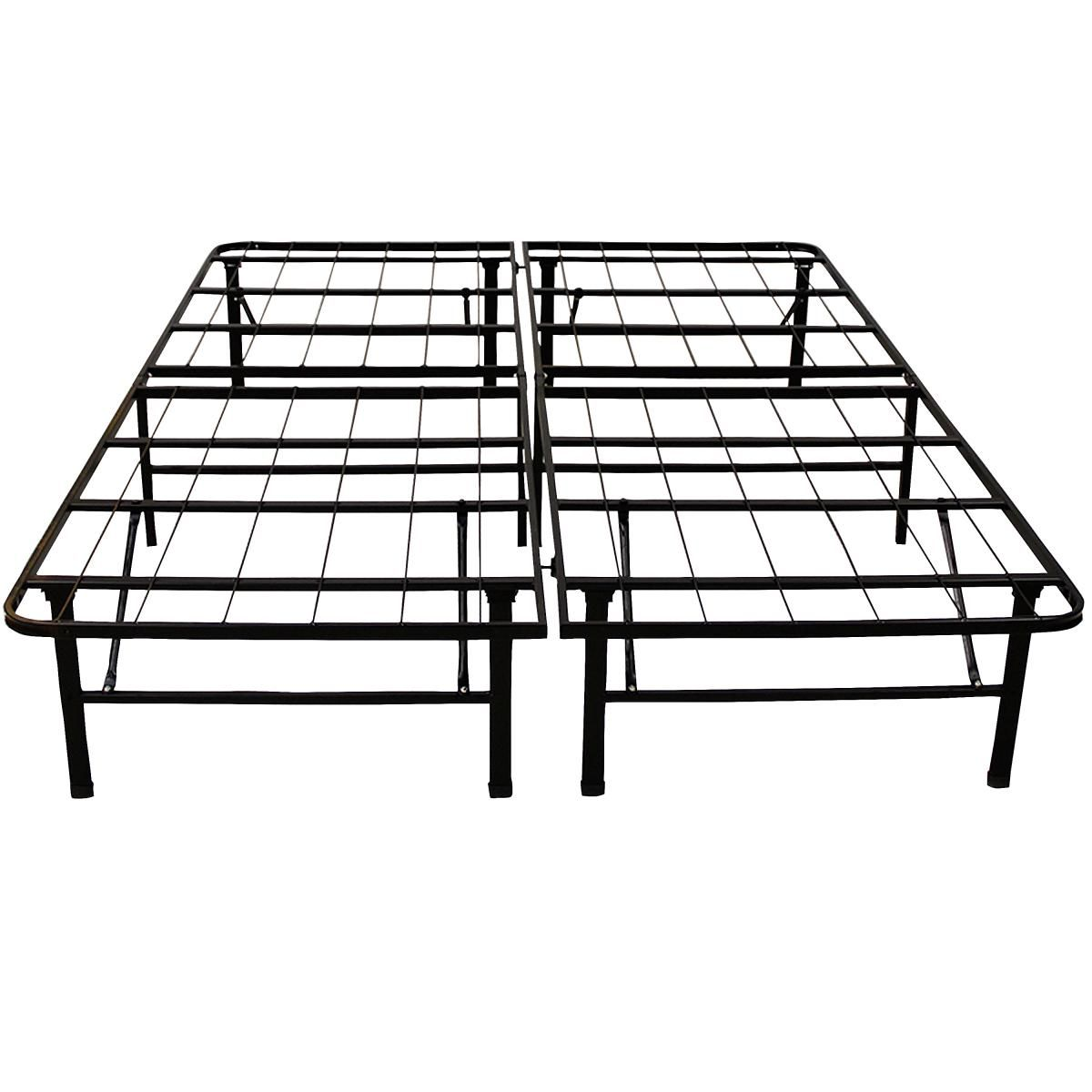The Platform Metal Bed Frame Foundation Is A Stylish And Useful