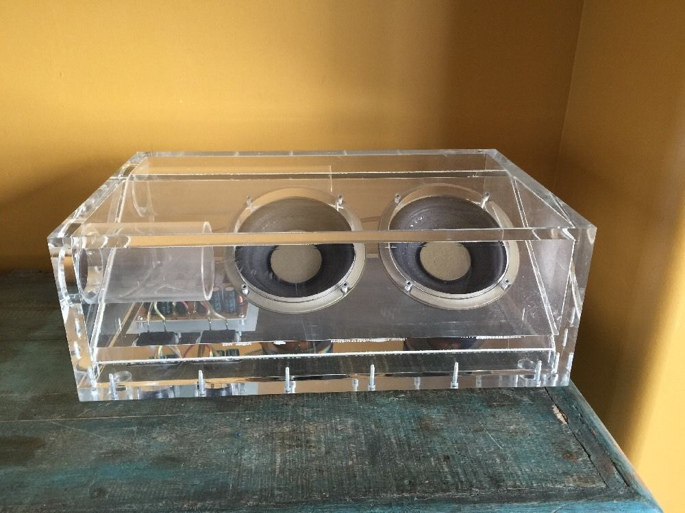 Lucite Bose Acoustimass Subwoofer Speaker Bass Box | Home ...