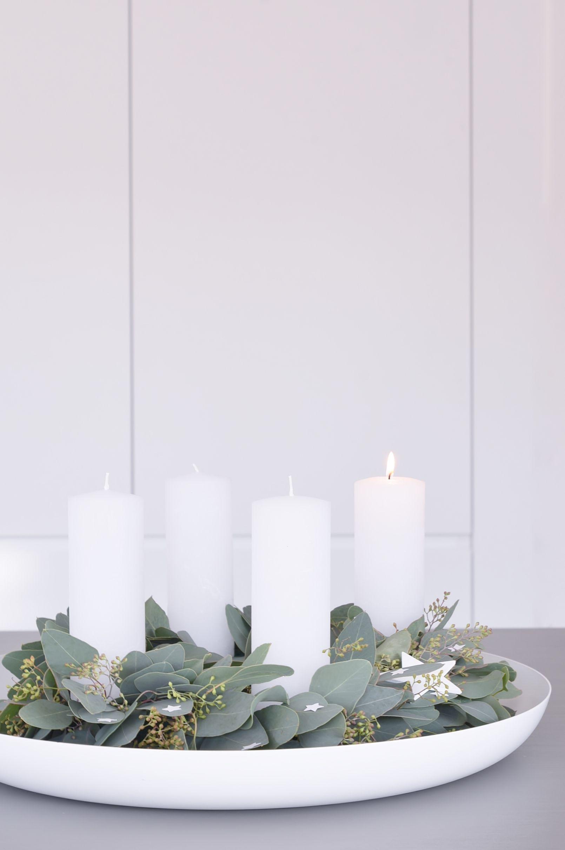 Pur Skandinavischer Weihnachtsschmuck Minimalistisch
