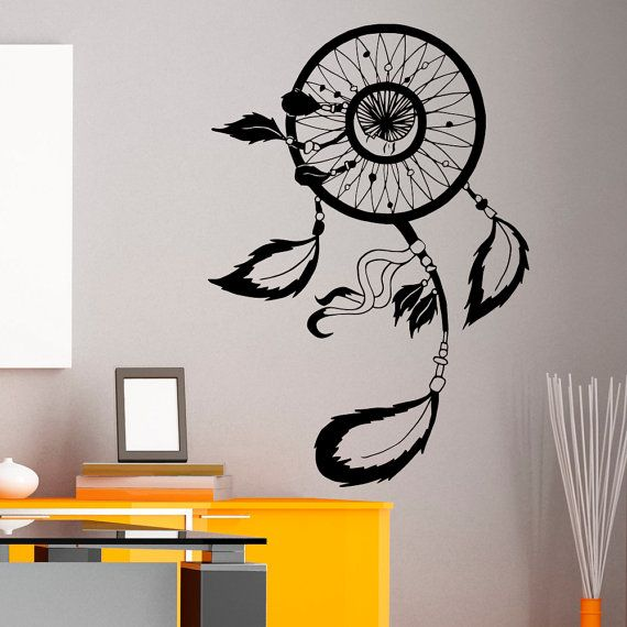dreamcatcher wall decals dream catcher wall decal vinyl sticker