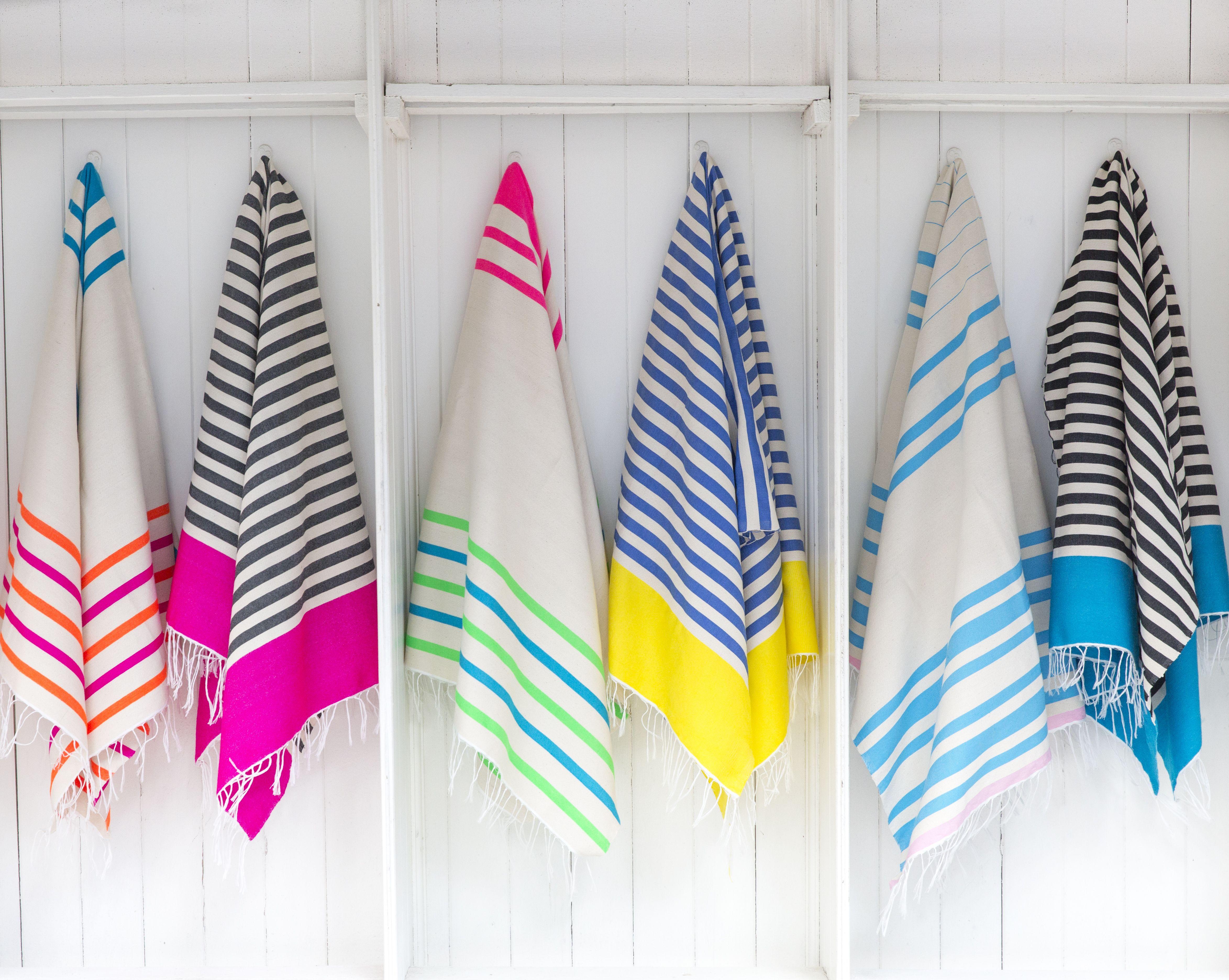 Moroccan Handmade Bath Beach Towel Cotton Striped Nicely For Hammam /& Bathroom