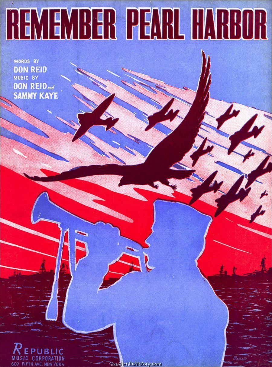 Sheet Music: Remember Pearl Harbor (1941)