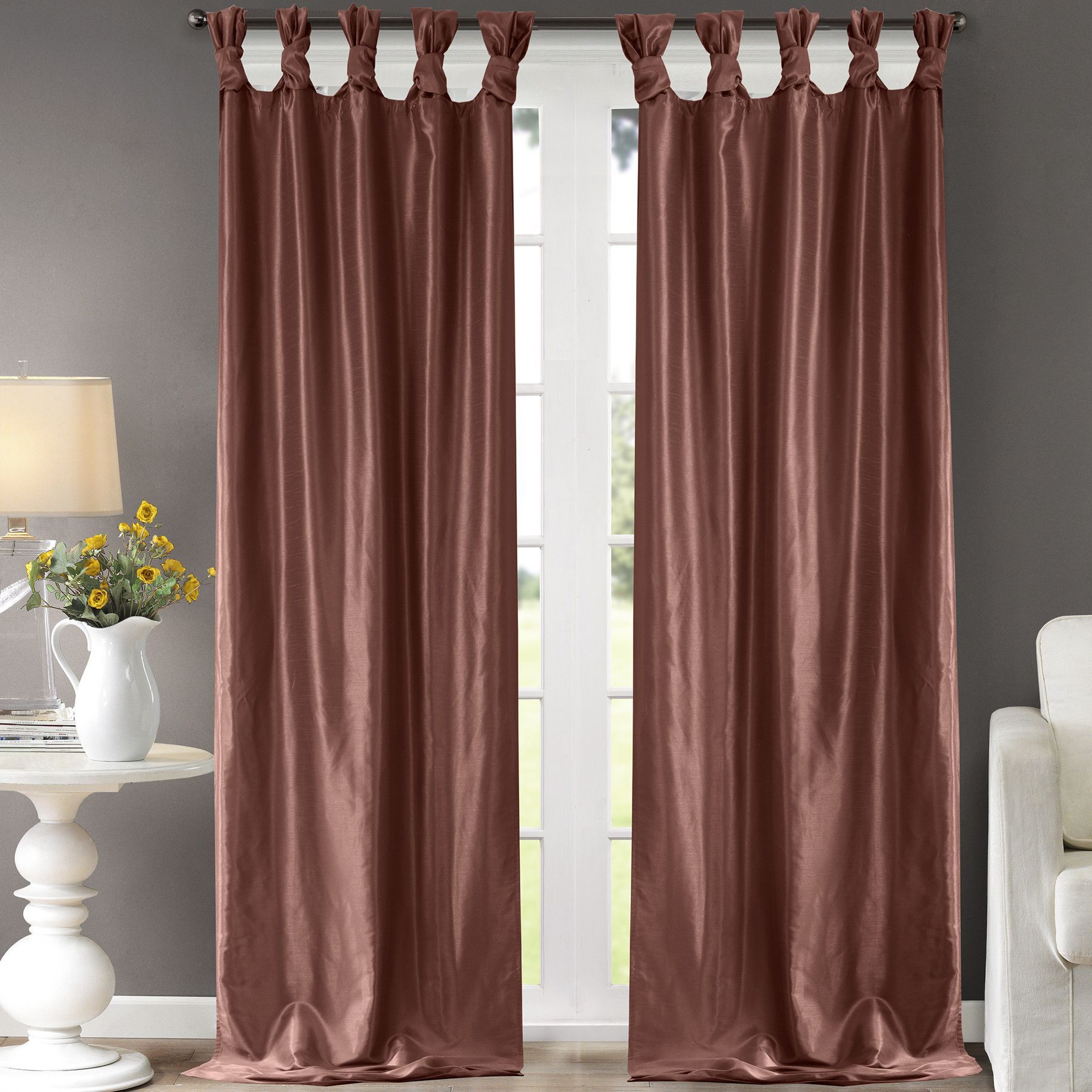 European window coverings  emilia single curtain panel  notes  pinterest  products