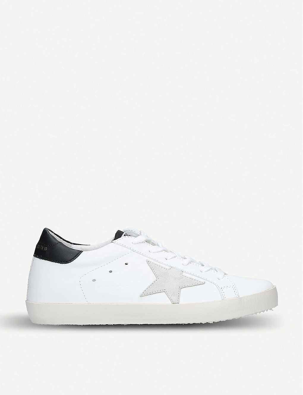 Superstar e73 leather trainers
