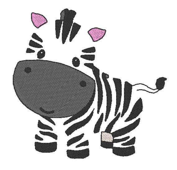 petit z bre mignon motif de broderie cute little zebra embroidery design par jolikrea. Black Bedroom Furniture Sets. Home Design Ideas