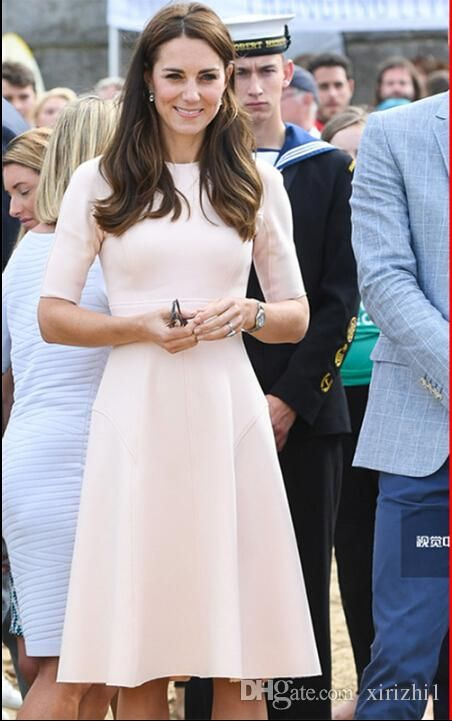 Kate Middleton Princess Dress 2018 Elegant Lady Star