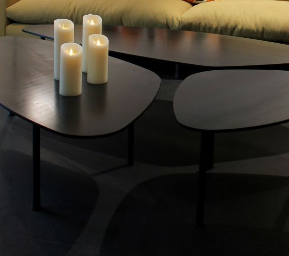 Family Rm Caravane Atoll Coffee Table Coffee Table Table Steel Furniture