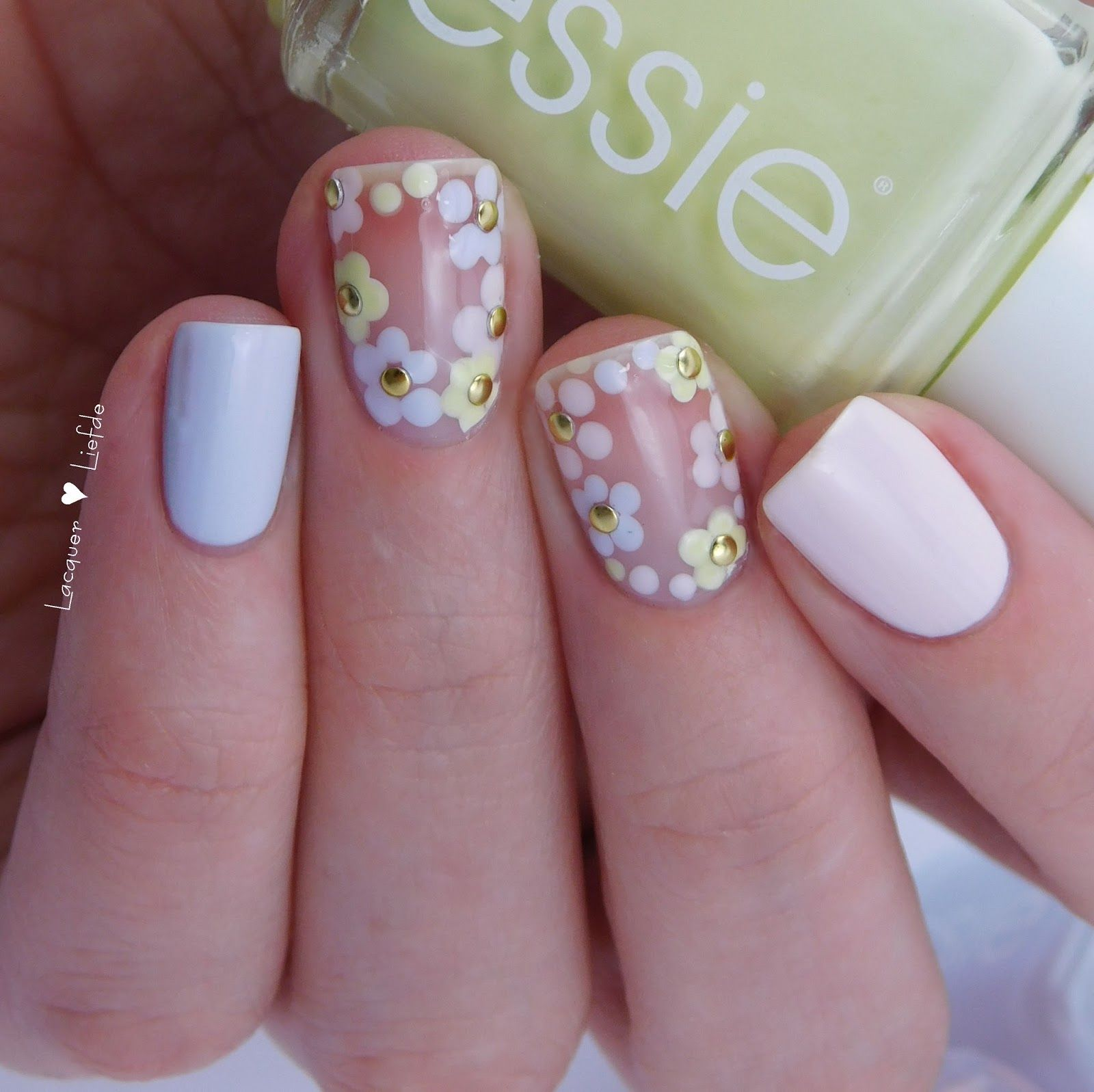 Essie Oster Frühlings Nagel Design | Nails | Pinterest | Manicure ...
