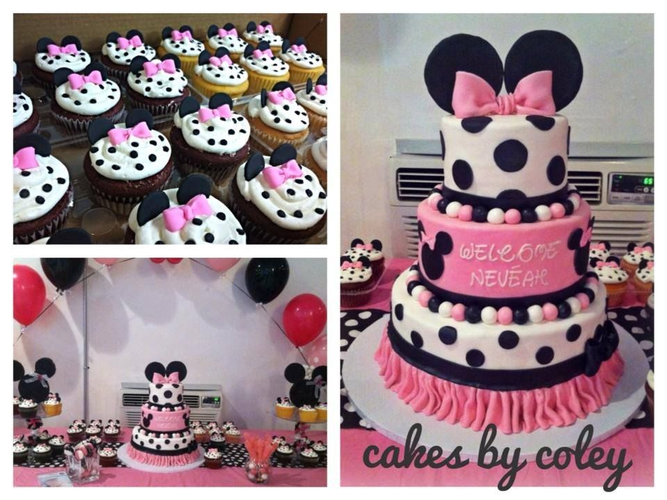 baby shower creations cakes by coley minnie mouse baby ...