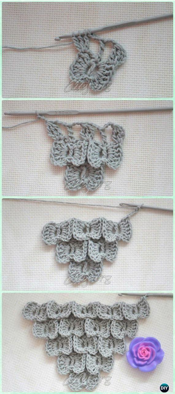 Crochet Bow Butterfly Stitch Free Pattern - Crochet Butterfly Stitch ...