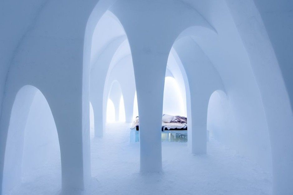 A Swedish Village Built This Hotel Out of Solid Ice - CityLab