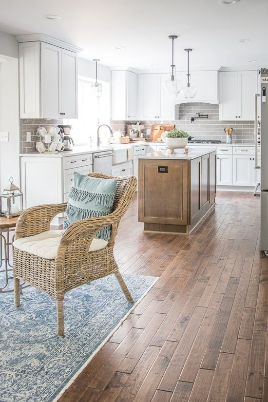Kitchen Makeover Reveal #kitchenmakeovers