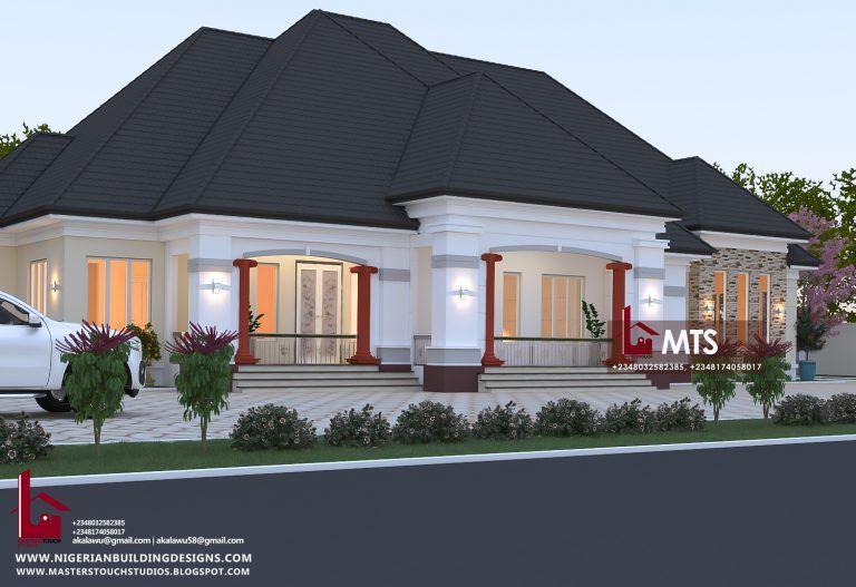 1 New Message Architectural House Plans Family House Plans Bungalow House Design