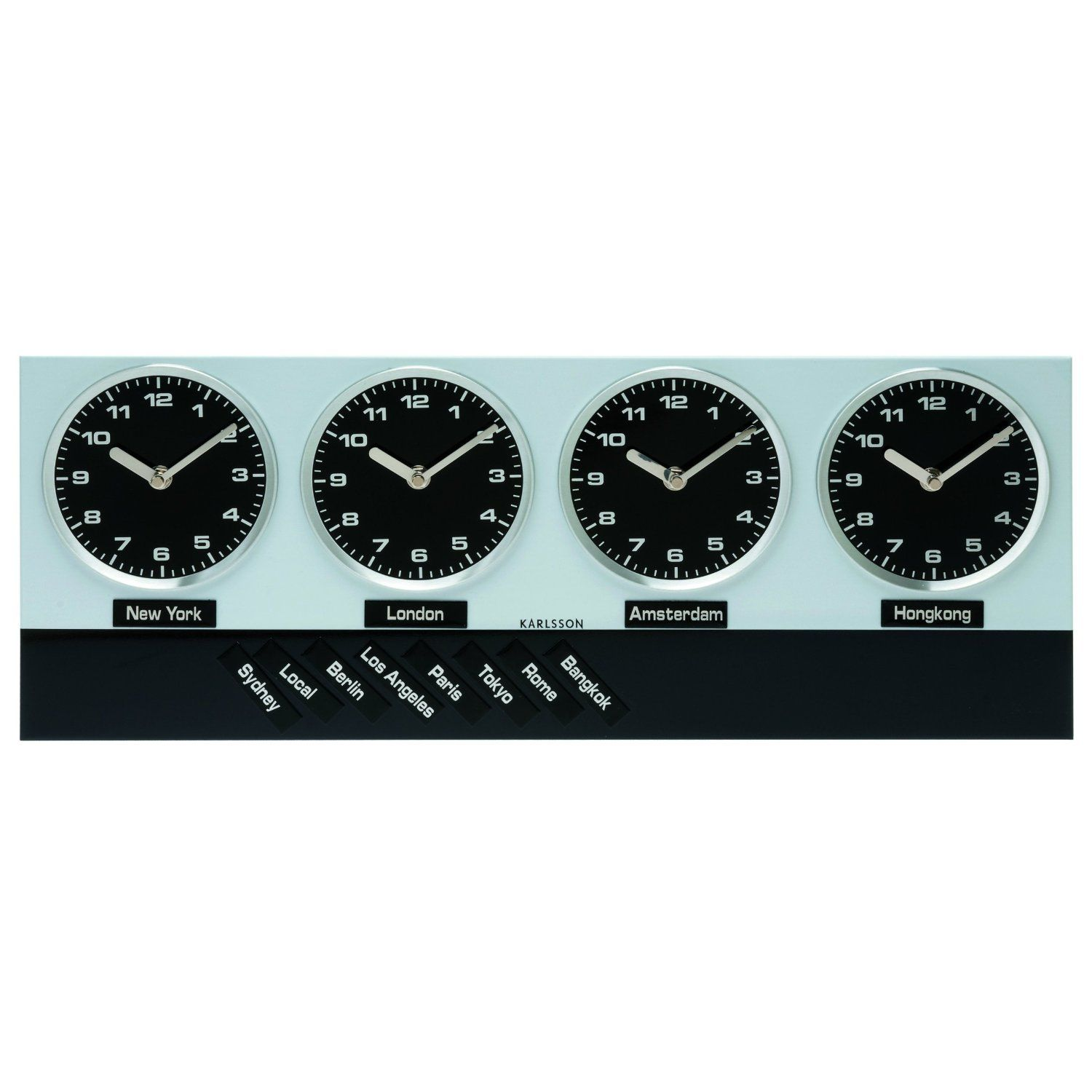 Get A World Clock For Your Home