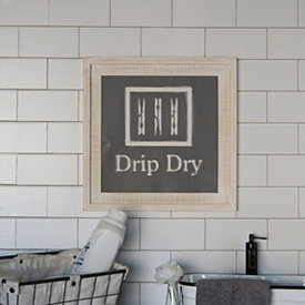 Drip Dry Wooden Wall Plaque Compass Wall Decor Wooden Wall Plaques Laundry Room Wall Decor
