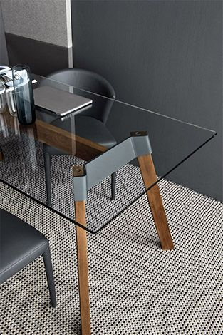 Calligaris The Paper Rectangular Table Is A Stylish And