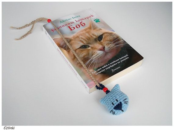 Handmade Cat Bookmark Necklace 2in1-Cat Lover by Etilinki on Etsy