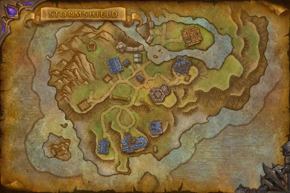 Storm Shield Wow Map Here Are Some Of The Best World Of Warcraft