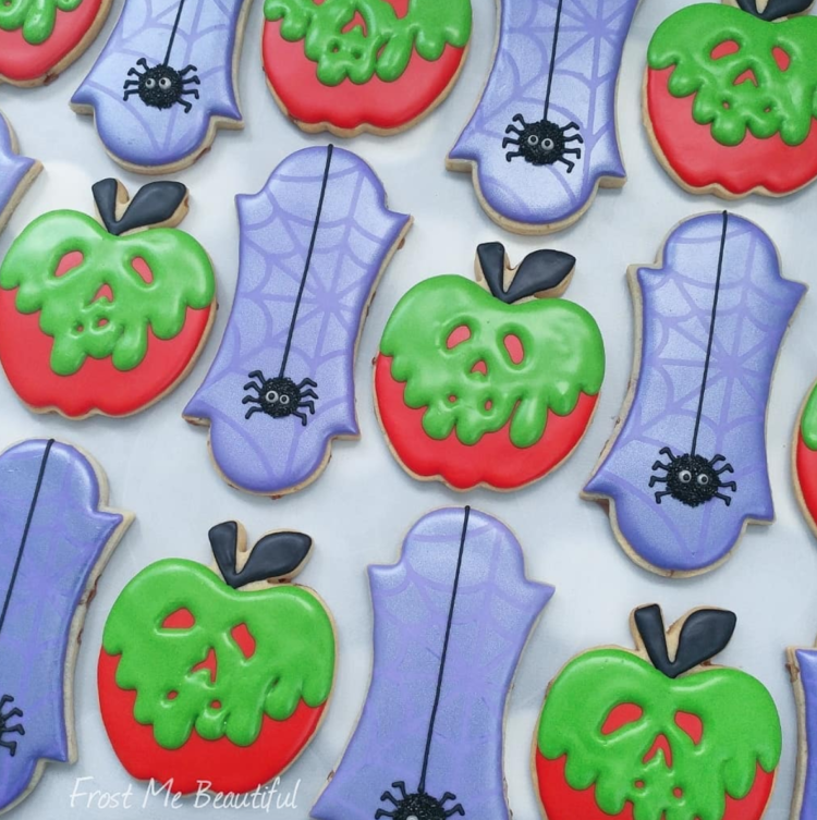 Spooky Fun Halloween Cookies #halloweencookiesdecorated
