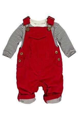 328e006ba02d Buy Red Cord Dungarees (0-18mths) from the Next UK online shop ...