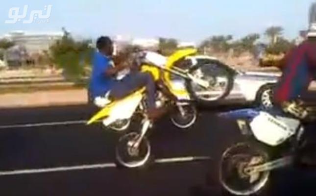 ملاحقة الدوريات الأمنية لـ 3 دراجات نارية في كورنيش جدة تسفر عن إصابتهم Quadcopter Vehicles