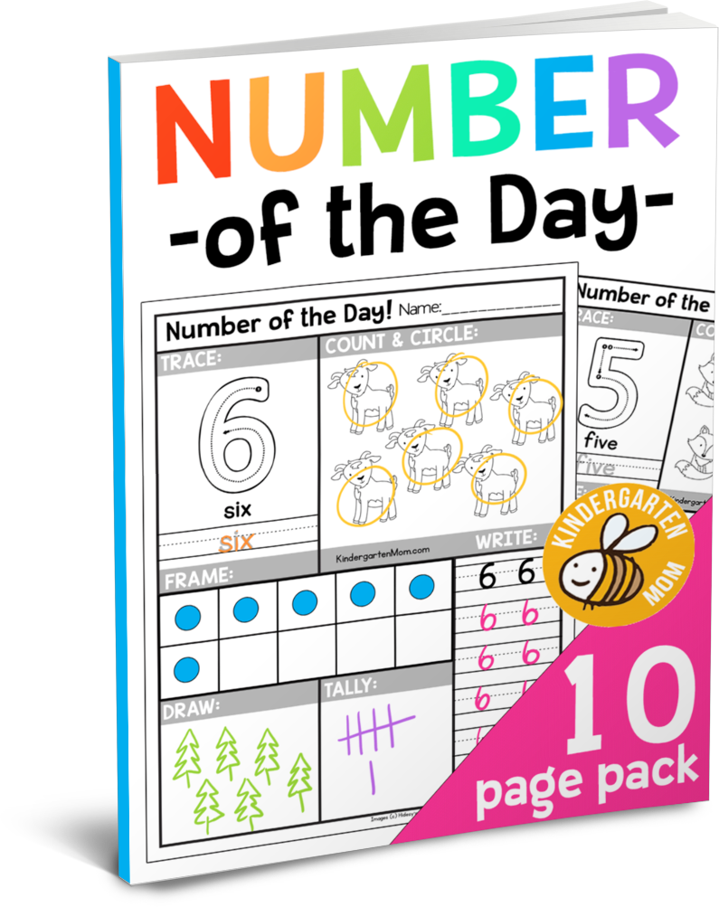 Free Number Of The Day Worksheets Free Printable Number Of The Day Works Kindergarten Worksheets Printable Kindergarten Math Worksheets Numbers Kindergarten [ 1003 x 795 Pixel ]