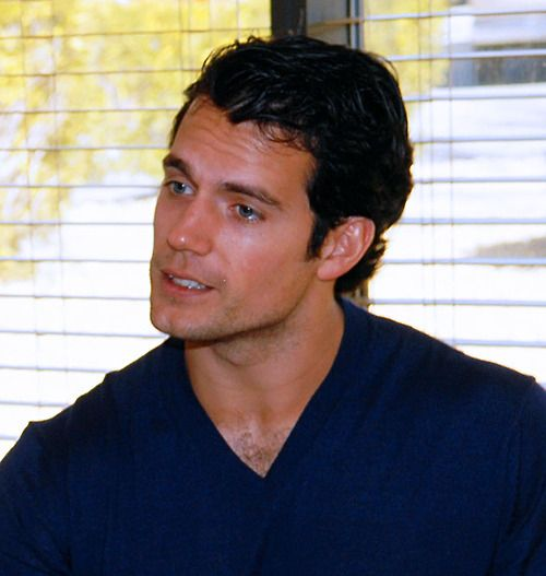 Henry Cavill at Edwards Air Force Base in California, USA (February 7, 2012). (photo source: Edwards Air Force Base)