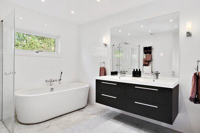 Badrum badrum modernt : 17 Best images about Badrum inspiration on Pinterest | White tile ...