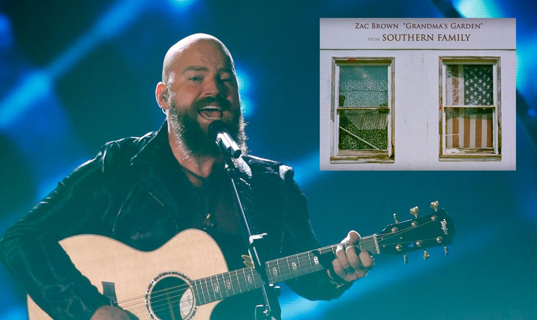 Zac Brown supplies touching new ballad to Dave Cobb's upcoming concept album.