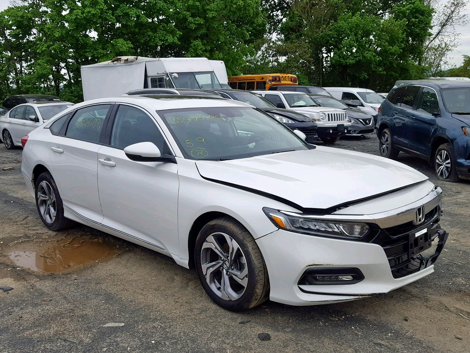 2018 Honda Accord Exl Salvage Auction Salvage cars