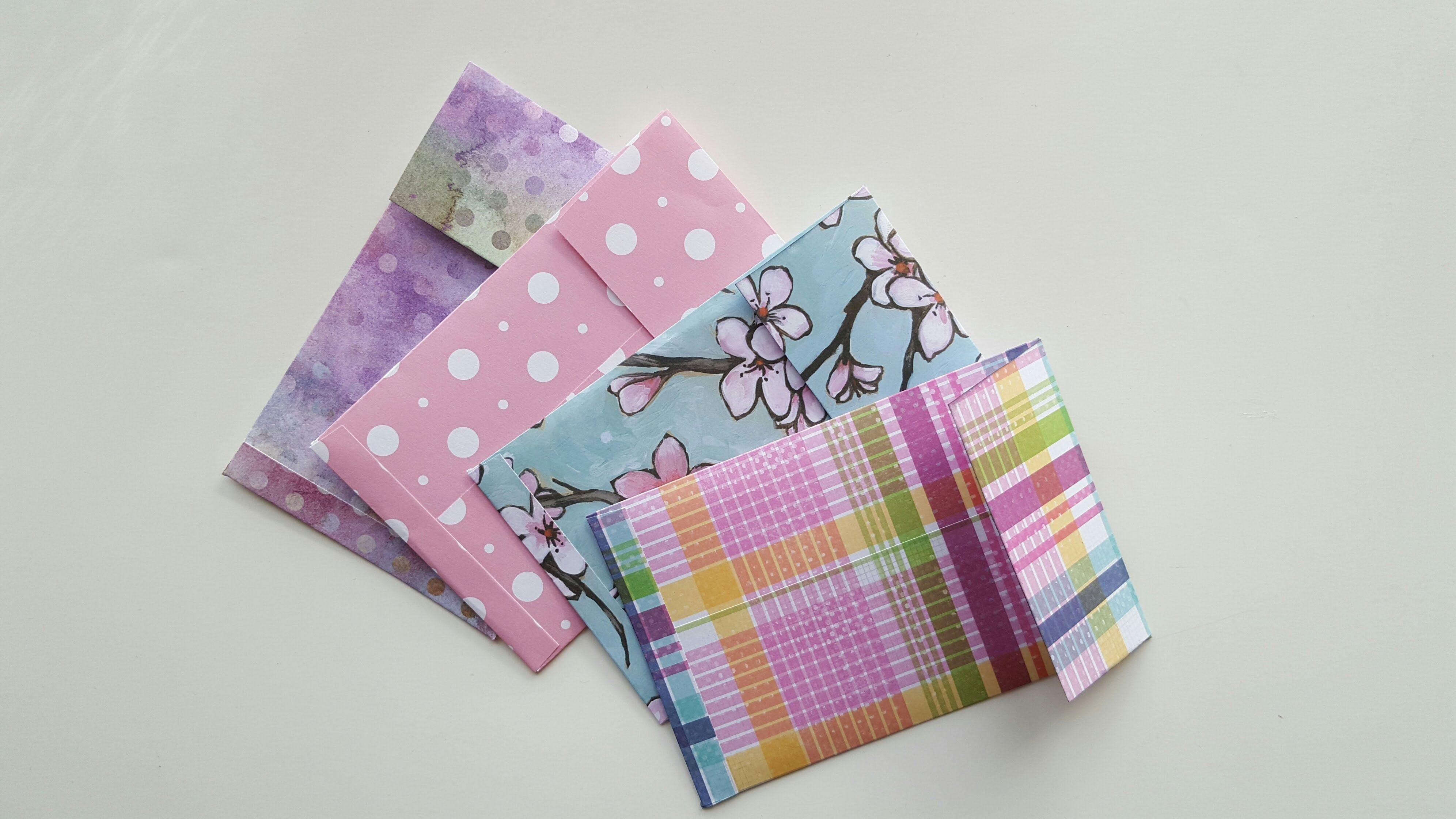 Handmade Coin Envelopes