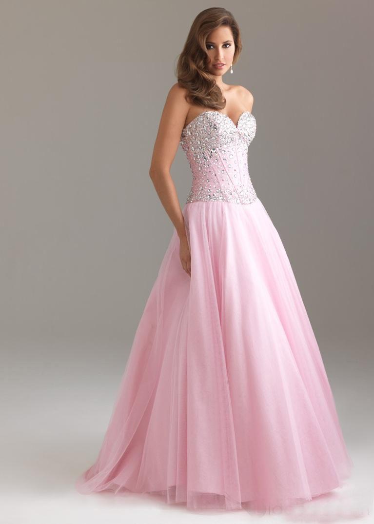 Sweetheart Neckline Prom Dresses