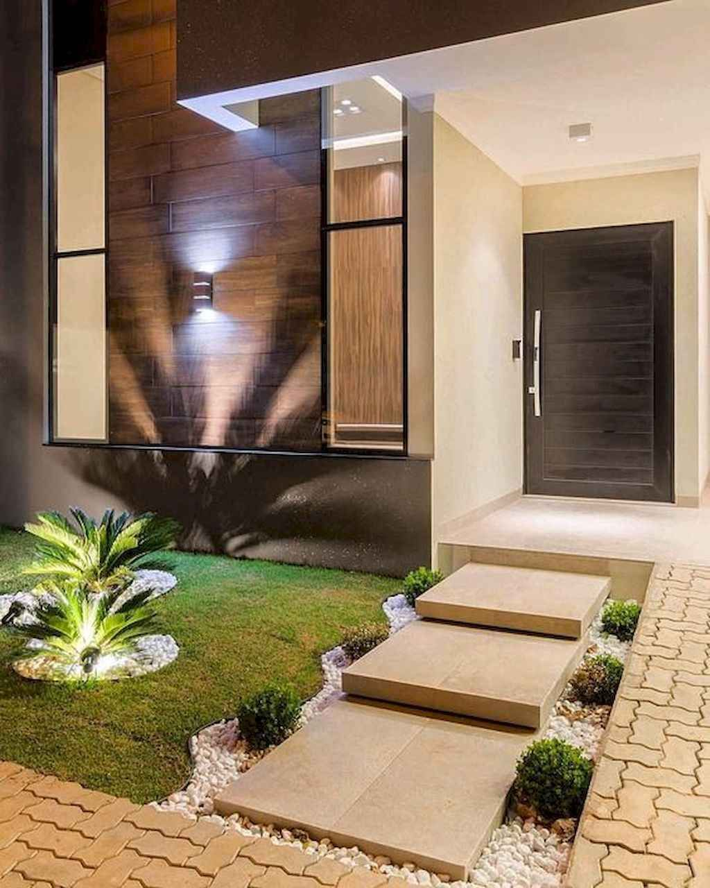 Garage Door Landscaping Ideas: 55 Fresh And Beautiful Front Yard Landscaping Ideas Low