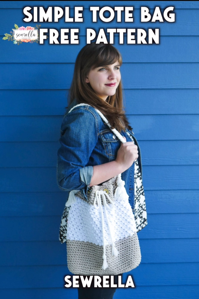 Photo of Simple Tote Bag – free crochet pattern