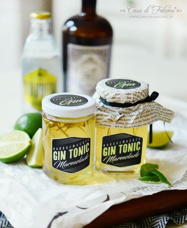 Photo of Gin Tonic Marmelade Rezept & Verpackungsidee