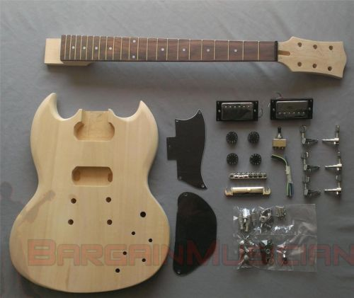 Sg body style diy unfinished project luthier electric guitar kit sg body style diy unfinished project luthier electric guitar kit solutioingenieria Gallery