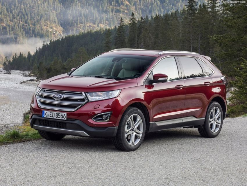 2019 Ford Edge Concept, Redesign Complete crossover