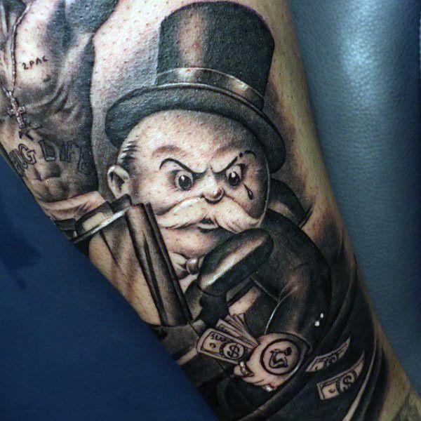 50 Money Tattoos For Men Wealth Of Masculine Design Ideas Tattos