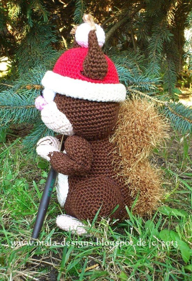 kleines Eichhörnchen, Häkelanleitung, amigurumi | Crochet