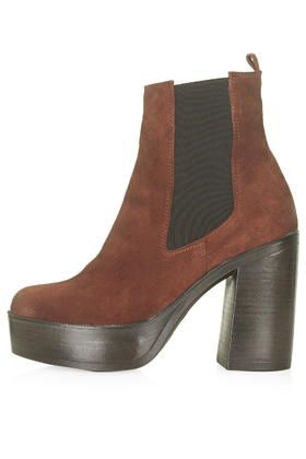 5f03dbb9dc8 HOLLY  70s Chunky Ankle Boots - Shoes