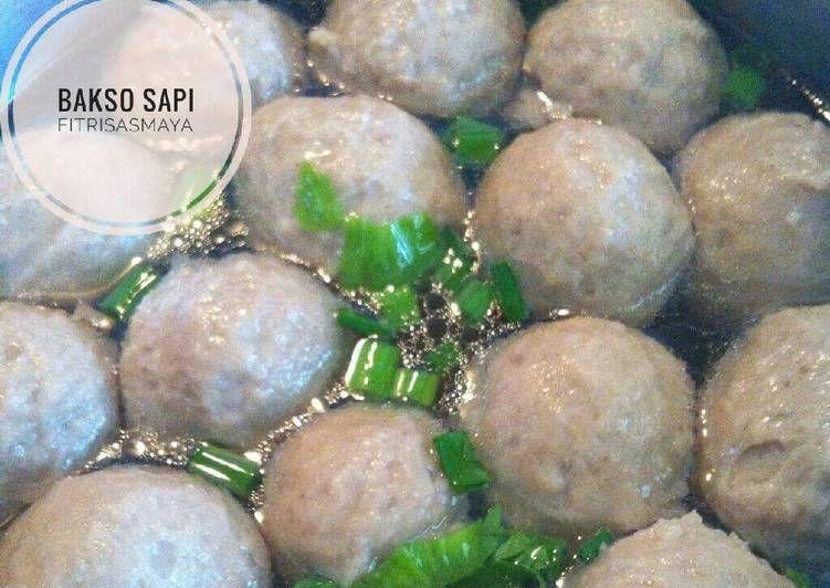 Resep Bakso Sapi Dengan Daging Fresh Oleh Fitri Sasmaya Resep Bakso Resep Masakan Indonesia Sapi