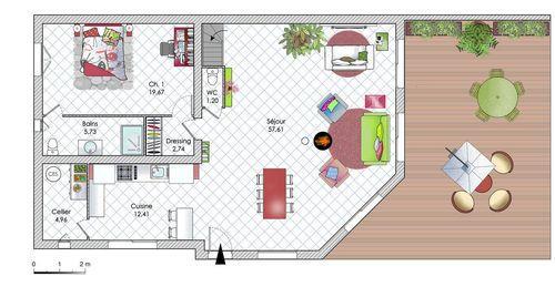 Une maison à l\u0027architecture originale