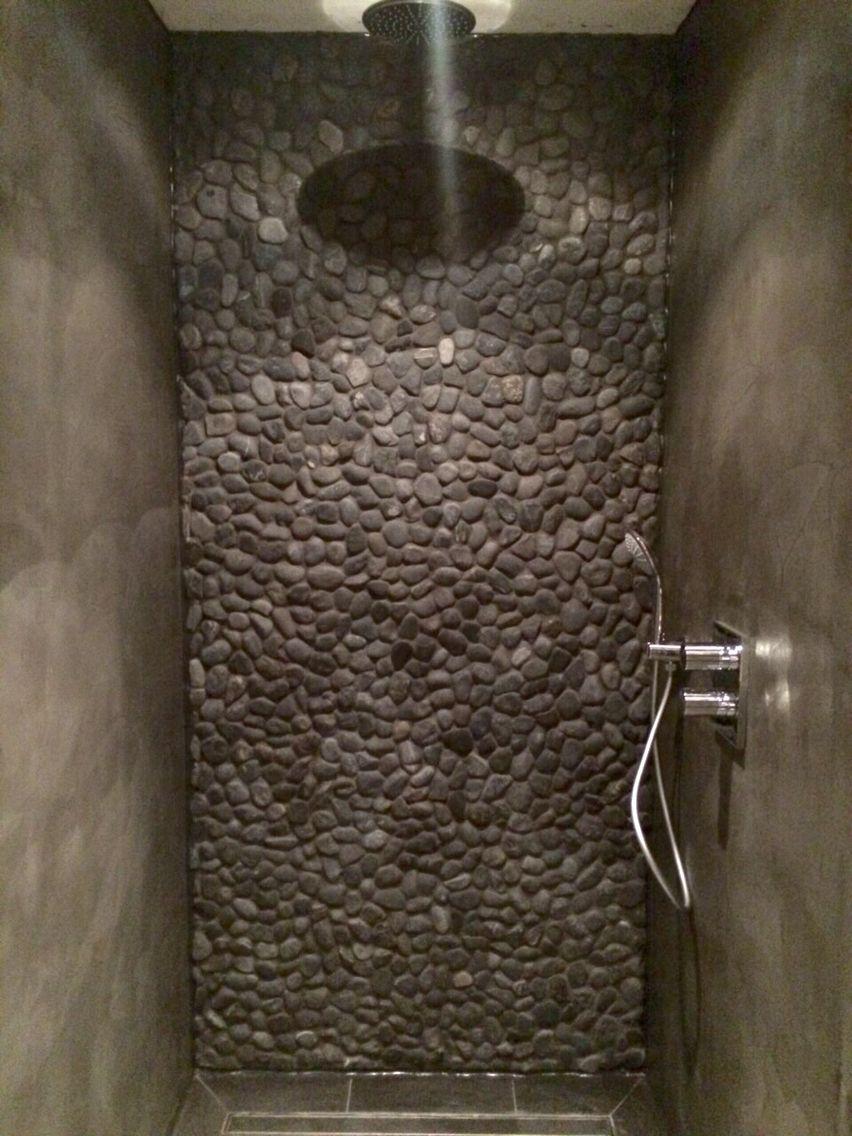 douche beton cire aangebracht door beton cire centrum industrial