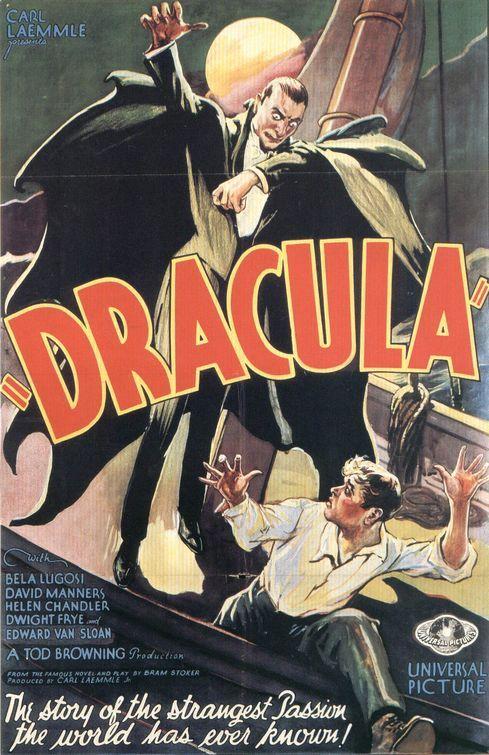 dracula 1931 bela lugosi horror pinterest affiches de films affiches et affiches r tro. Black Bedroom Furniture Sets. Home Design Ideas