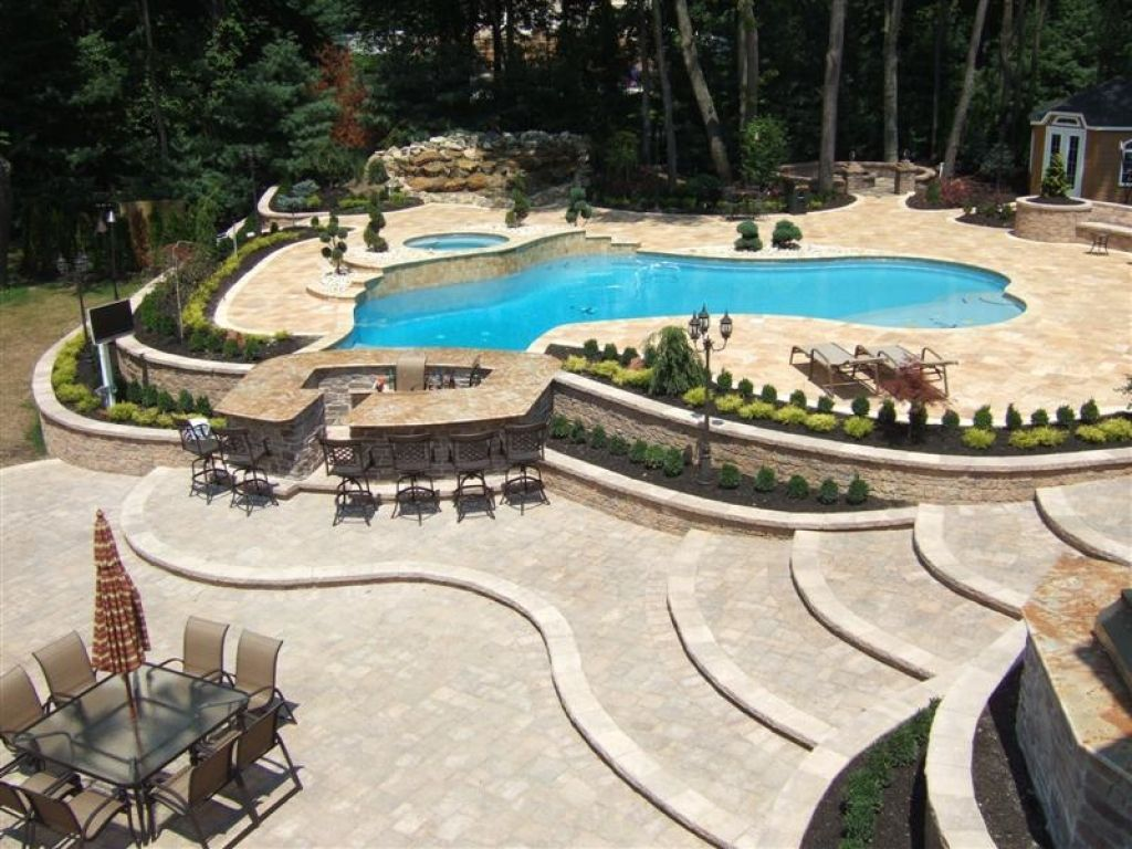 Swimming Pool Patio Designs Backyard Pool And Patio Designsedition Chicago Edition Chicago