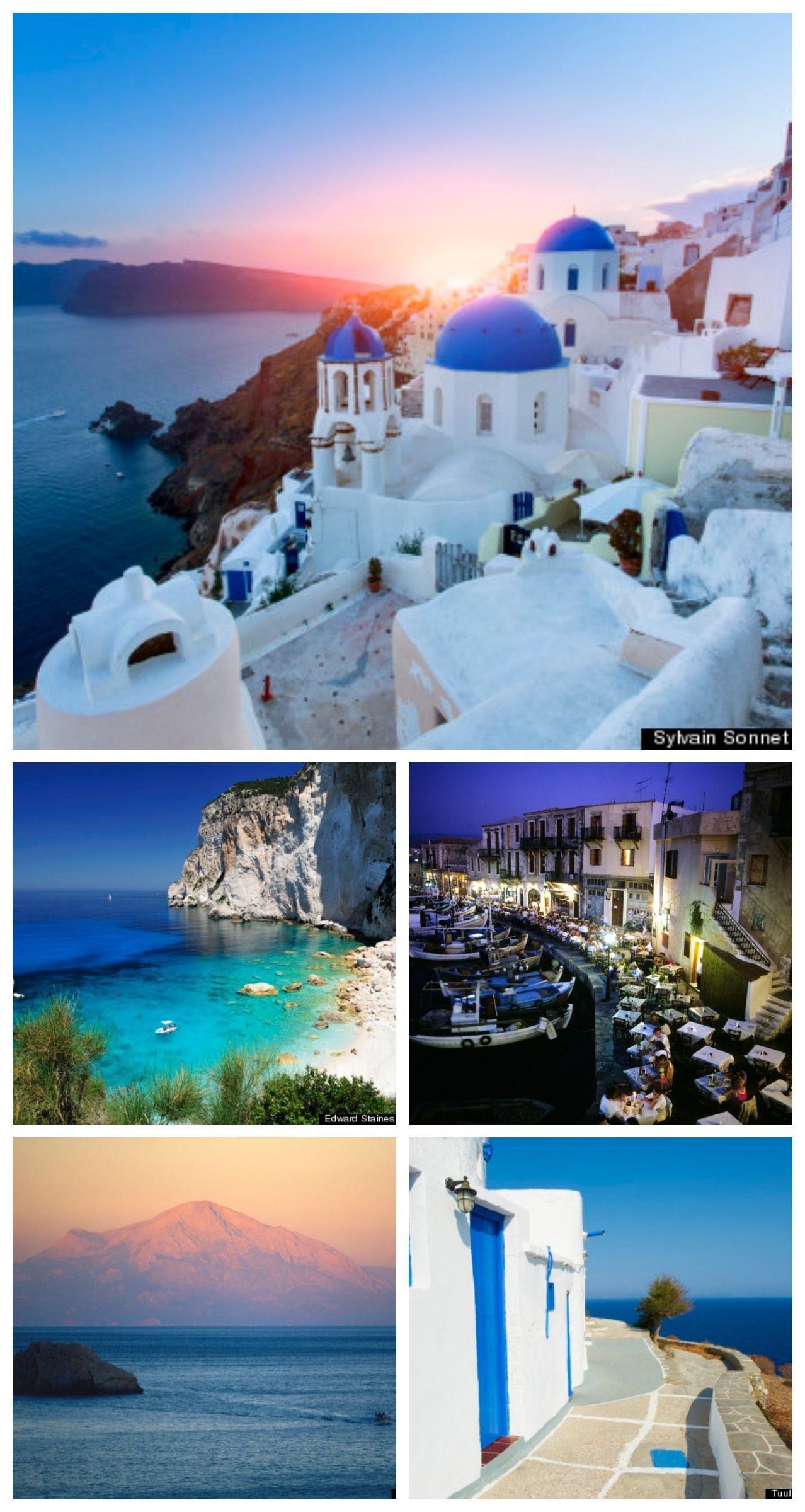 The Greek islands are calling #vacation #travel #getaway ...