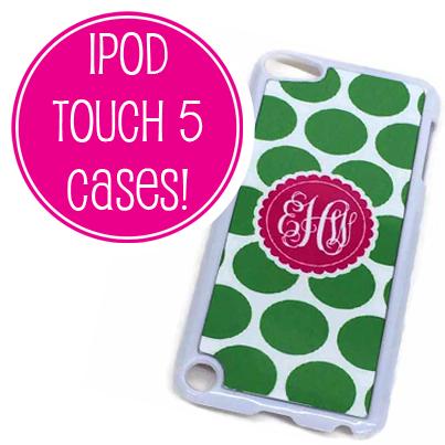 design your own ipod touch 5 case www madformonograms com