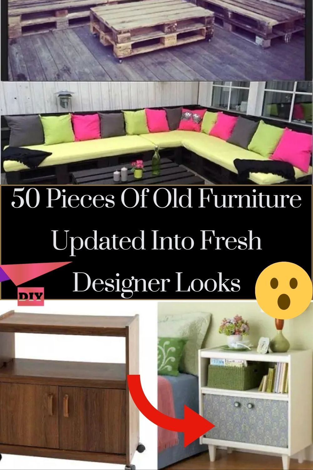50 Brilliant Ideas To Breathe New Life Into Old Furniture Hacks Diy Diy Life Hacks Diy Life
