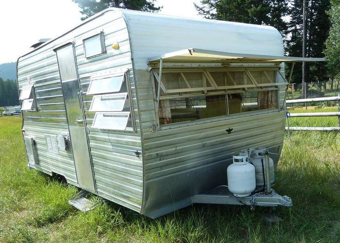 1966 Mobile Scout Travel Trailer