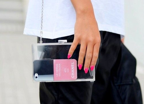 iPhone case: http://www.glamzelle.com/collections/accessories/products/chanel-nail-polish-iphone-case-dragon-475